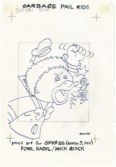 garbage pail kids coloring pages - photo#36